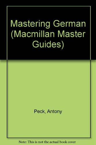 9780333325872: Mastering German (Macmillan Master Guides)