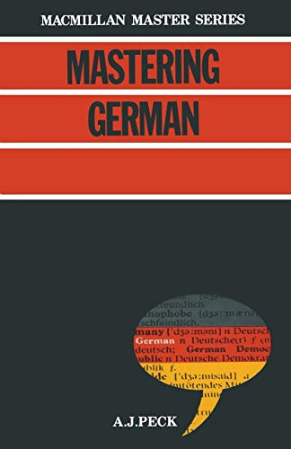 9780333325889: Mastering German