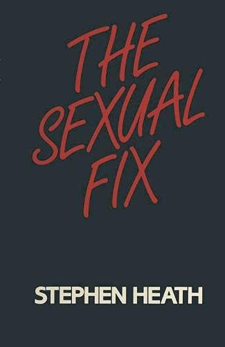 9780333327500: THE SEXUAL FIX