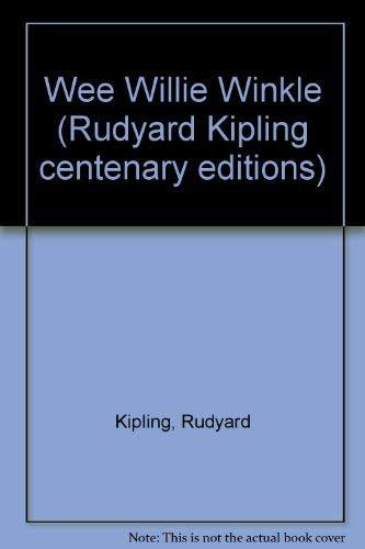 9780333327753: Wee Willie Winkle (Rudyard Kipling centenary editions)
