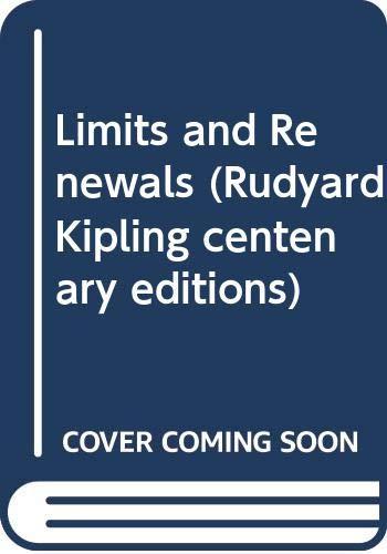 9780333328057: Limits and Renewals (Rudyard Kipling centenary editions)