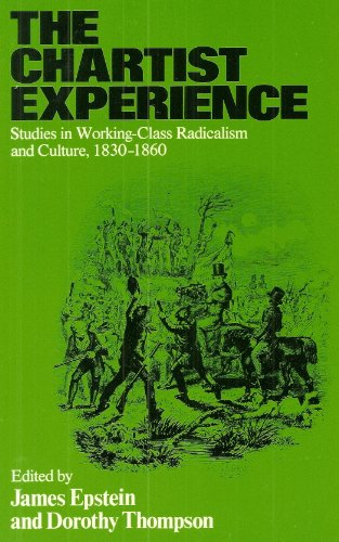 9780333329726: The Chartist Experience: Studies in Working Class Radicalism and Culture, 1830-60