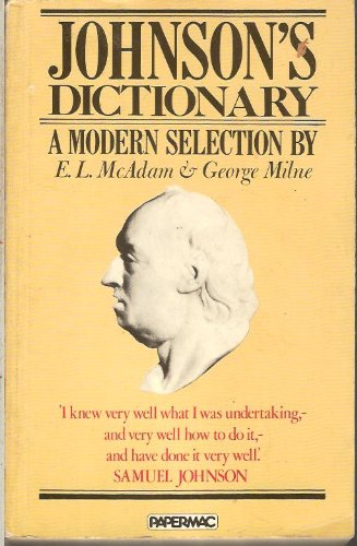 9780333329849: Dictionary of the English Language (Papermacs)