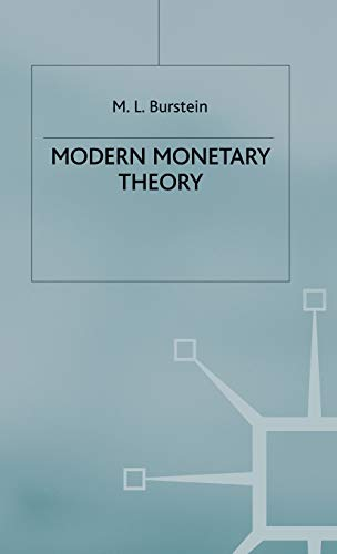 9780333331552: Modern Monetary Theory