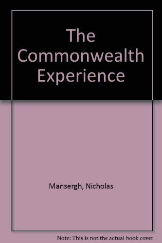 9780333331682: The Commonwealth Experience