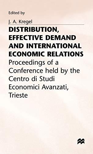 Distribution Effective Demand: Kregel, J. a., Kregel