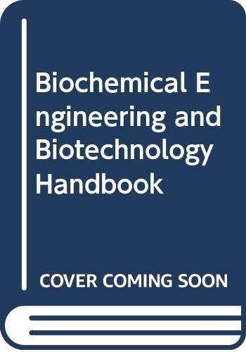 9780333332740: Biochemical Engineering and Biotechnology Handbook
