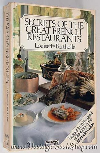 9780333334591: Secrets of the Great French Restaurants