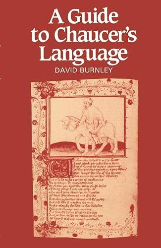 9780333335321: A Guide to Chaucer's Language