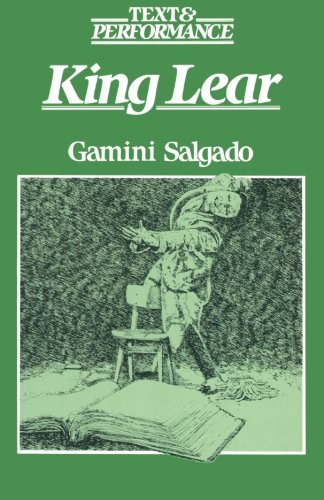 9780333339961: King Lear: Text and Performance (Text & Performance)