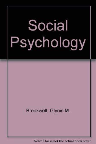9780333340097: Social Psychology : A Practical Manual