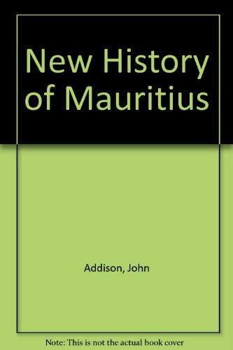 9780333340264: New History of Mauritius