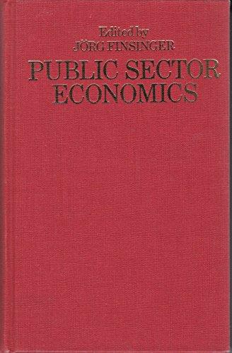 9780333341414: Public Sector Economics