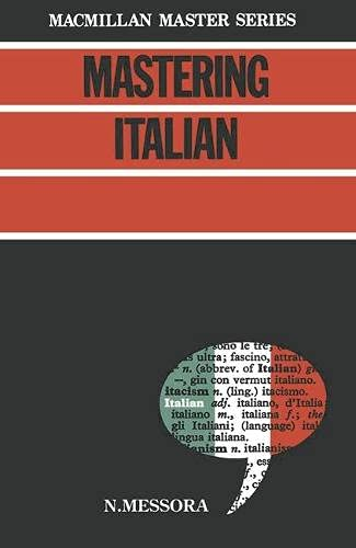 9780333343104: Mastering Italian: No.1