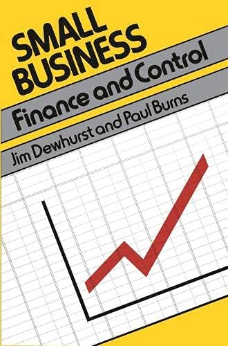 Small Business: Planning, Finance and Control (Small: Dewhurst, Jim &