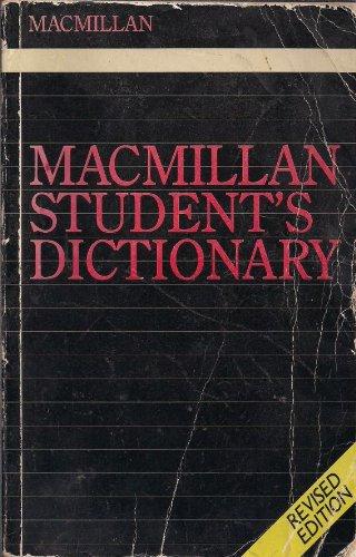 9780333348369: Macmillan Student's Dictionary