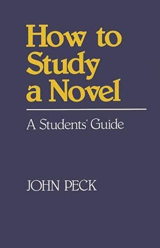 9780333348680: How to Study a Novel (How to Study Literature)