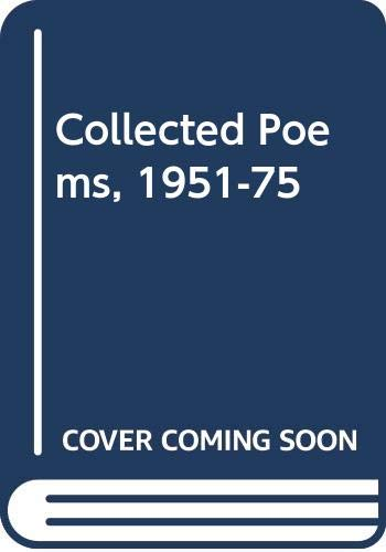 9780333351888: Collected Poems 1951-1975