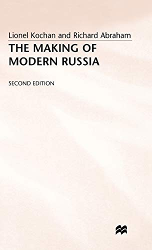 9780333351895: The Making of Modern Russia