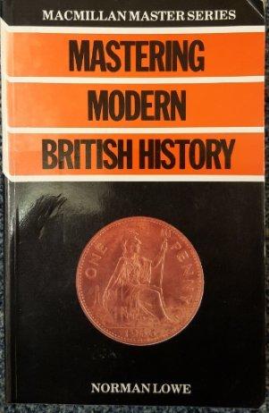 9780333352281: Mastering Modern British History (Macmillan Master Guides)