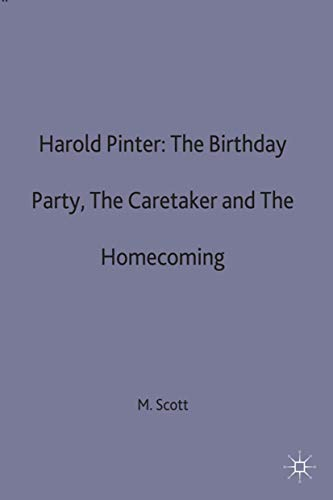 9780333352717: Harold Pinter: The Birthday Party, The Caretaker and The Homecoming (Casebooks Series)