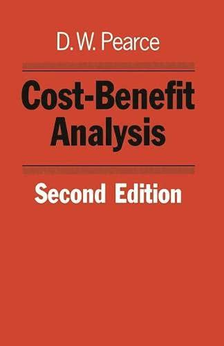 9780333352816: Cost-benefit Analysis (Studies in Economics)