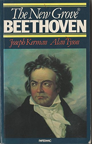 The New Grove Beethoven (The New Grove Composer Biography) (0333353854) by J. Kerman; Alan Tyson