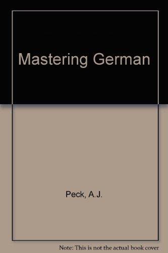 9780333354643: Mastering German