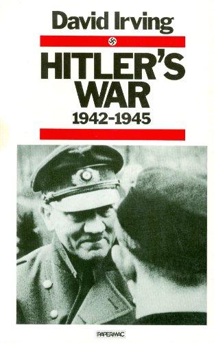 9780333357927: Hitler's War 1942 - 1945