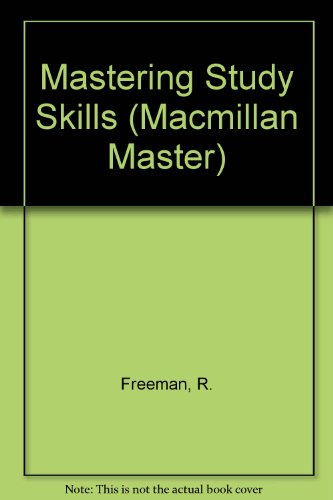 9780333358863: Mastering Study Skills (Macmillan Master)