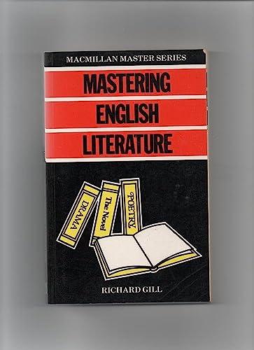 9780333361085: Mastering English Literature (Macmillan Master Guides)