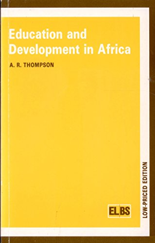 9780333363010: Education and Development in Africa