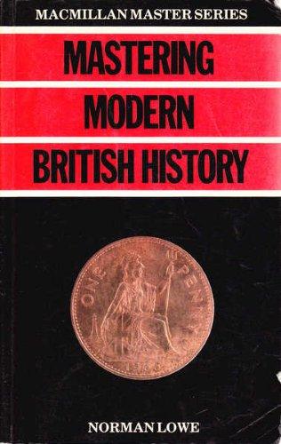 9780333363317: Mastering Modern British History (Macmillan Master Guides)