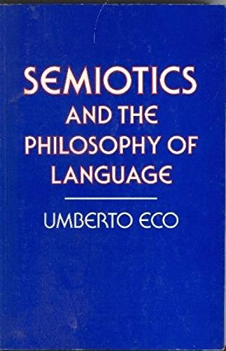 9780333363553: Semiotics and the Philosophy of Language