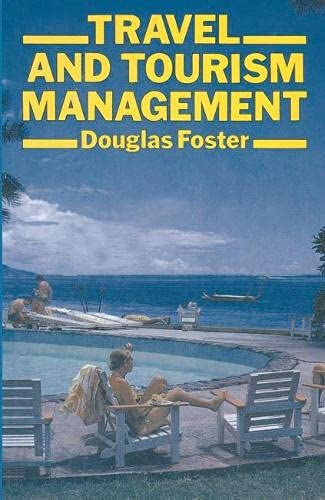 9780333364093: Travel and Tourism Management