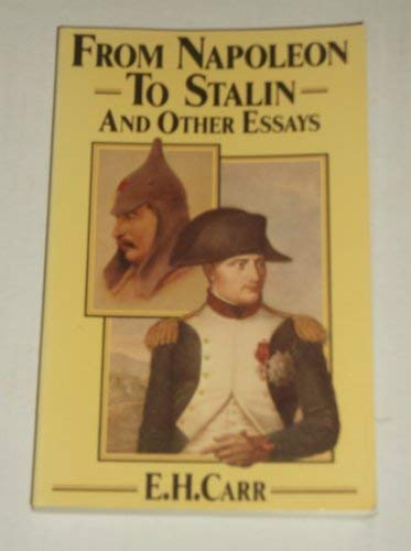 9780333365281: From Napoleon to Stalin and Other Essays