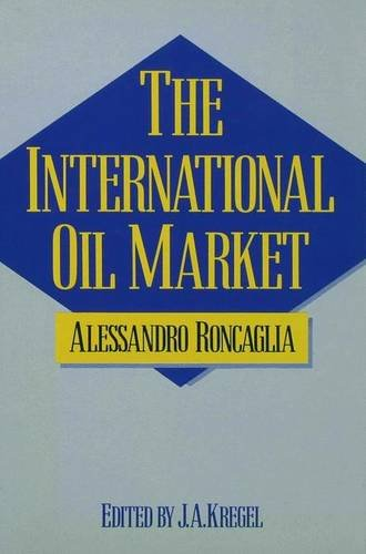 9780333365878: The International Oil Market: A Case of Trilateral Oligopoly
