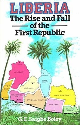 9780333366240: Liberia: The Rise and Fall of the First Republic