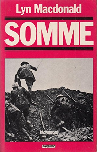9780333366486: The Somme