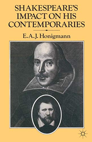 9780333367087: Shakespeare's Impact on his Contemporaries