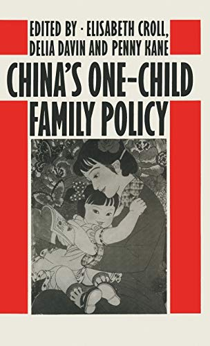 9780333367117: China's One-Child Family Policy