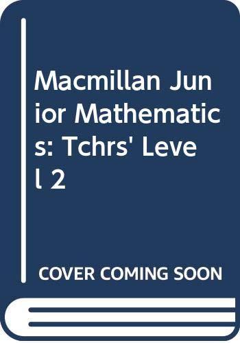 9780333369616: Macmillan Junior Mathematics: Tchrs' Level 2