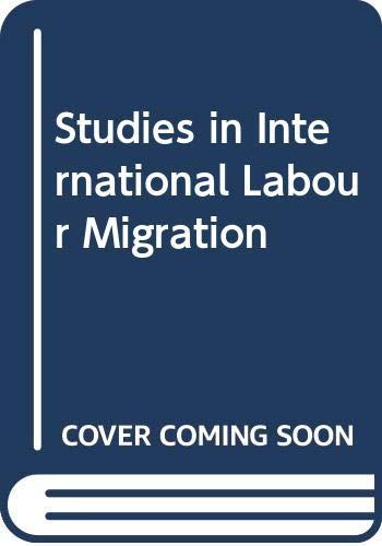 9780333369715: Studies Intern Labour Migratn