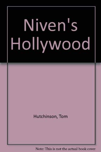 9780333370254: Niven's Hollywood
