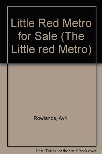 9780333370292: Little Red Metro for Sale Hc Rowlands A