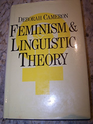9780333370773: Feminism and Linguistic Theory