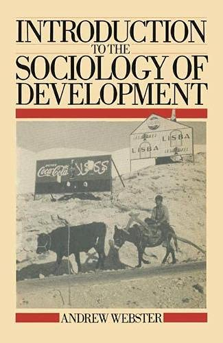 9780333371282: Introduction to the Sociology of Development