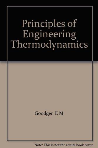 9780333371497: Principles of Engineering Thermodynamics