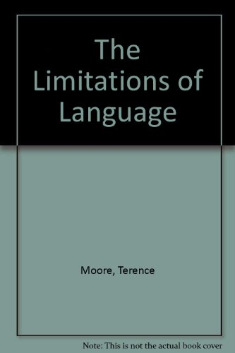 9780333371527: The Limitations of Language