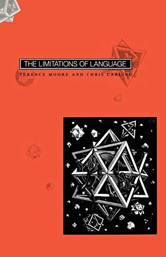 9780333371534: The Limitations of Language